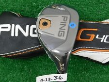PING G400 22* 4 Hybrid Rescue Alta CB 70 Regular Graphite with Headcover New
