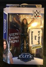 MATTEL WWE ELITE SERIES 37 STEPHANIE MCMAHON FIGURE FAN SIGNS - NEW IN PACKAGE