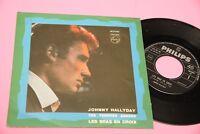 "Johnny Hallyday 7 "" Tes Tendres Annees 1° St Orig ITAL1964 NM! Toop Collectors"