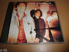 THE CHURCH single TWO PLACES AT ONCE 3 track CD I've been waiting PROMO