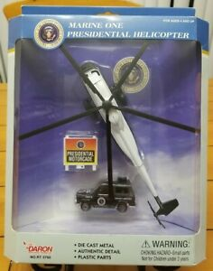 Daron Die Cast Marine One Presidential Helicopter VH-3D SEALED!