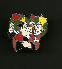 Queen of Hearts and Knave from Alice in Wonderland Splendid Disney Pin