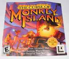The Curse of Monkey Island Lucas Arts PC Game