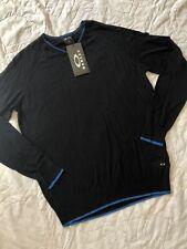 New Oakley Linksmen Blackout Sweater Men L Large Nwt $95