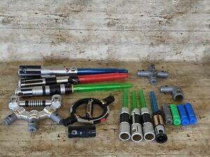 Star Wars Blade Builders Lightsaber Bundle - Light Up & Sounds
