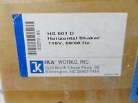IKA HS 501 Digital 0-300 rpm Low Profile Laboratory Orbital Shaker.