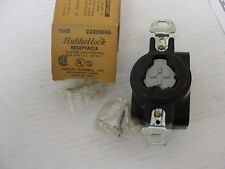 Hubbell lock 23000HG Receptacle