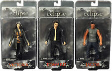 Twilight Eclipse Series 1 SET OF 3 EDWARD JACOB VICTORIA figure NECA vampire
