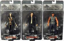 Twilight Eclipse Series 1 SET OF 3 EDWARD JACOB VICTORIA figure NECA vampire