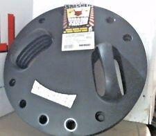 "Semco 00027 Trash Smasher 17"" Diameter Ergonomic Handle Black Plastic, FREE SHIP"