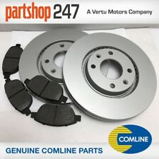 PEUGEOT 207 1.4,1.6 + HDI FRONT BRAKE PADS AND COATED DISCS