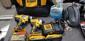 Dewalt DCK2100D1T1 20V Drill Set