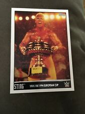 2015 Topps WWE Sting Tribute #15 Wins the 1994 European Cup