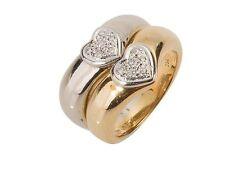 Markenlose Damen-Echtschmuck mit Brillantschliff Ringe