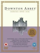 Downton Abbey TV Series 1 - 6 DVD 2015 Collection Complete Set