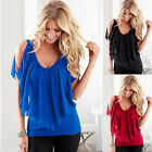 Sexy Women Summer V-Neck Vest Top Sleeveless Blouse Casual Tank Tops T-Shirt