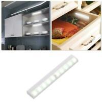 10-LED PIR Motion Sensor Wireless Light Lamp Portable Cabinet Night Closet