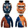 Denver Broncos Hoodie 3D Print Sweatshirt Football Training Pullover Jacket Coat