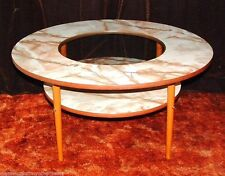 Marble Conservatory Round Coffee Tables