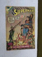 VTG 1972 RARE SUPERMAN # 881 MEXICAN COMIC NOVARO BRONZE AGE