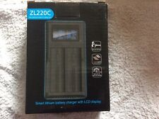 Smart Lithium Battery Charger With LCD Display. ( ZL220C)