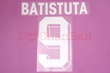 Batistuta #9 1999-2000 Fiorentina Homekit Nameset Printing