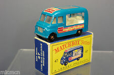 "Matchbox lesney modèle No.47b ""commer"" ice cream van mib"