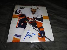 New York Islanders Michael Grabner Autographed 8x10 COA