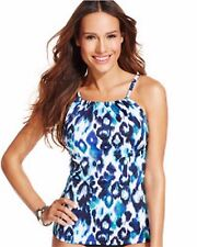 INC International Concepts Swim Bikini Tankini Top Sz 8 i6