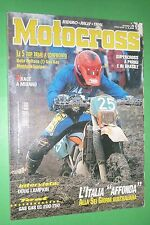 MOTOCROSS 12 DICEMBRE 1998 GAS GAS EC 200 TXT 250 BETA TECHNO 250 SHERCO SCORPA