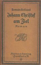 Johan Christof am ziel Romain Holland Rutten & Loening Ed.Libro in lingua D61