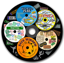 Vinyl cutter plotter CLIP ART vector 1 CD pack in EPS format images, MUST HAVE!