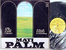 MELODIYA USSR Purcell Schoenberg MATI PALM Baritone ALANGO Piano 02789-90