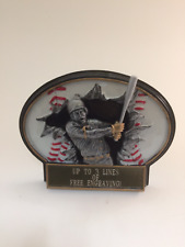 Large Baseball Plate Resin Trophy! Free Engraving! Ships In 1 Business Day!