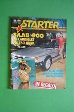STARTER N.22/1986 FERRARI 250 GT CALIFORNIA MICHELE ALBORETO SAAB 900 HONDA 750F