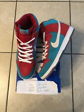 Nike SB Dunk High Bloody Gums 12 U.S. Used kith yeezy.