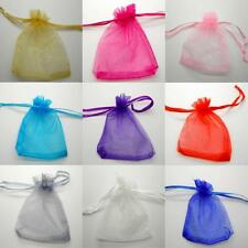 Organza Gift Bag Pouch Wedding Favour Party Jewellery Xmas Present UK Seller