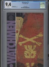 WATCHMEN #5 NM 9.4 CGC WHITE PAGES ALAN MOORE STORY AND DAVE GIBBONS COVER ART