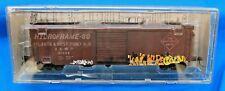 HO - KADEE 6348 ATLANTA & WEST POINT 50' PS-1 Boxcar # 51009 FACTORY WEATHERED