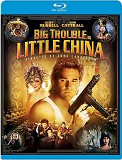 BIG TROUBLE IN LITTLE CHINA BLU RAY NEW AND SEALED KURT RUSSELL