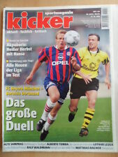 KICKER 86 - 21.10. 1996 * Klinsmann Schalke-HSV 2:0 Bayern-BVB 0:0 Alberto Tomba