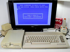 Commodore 64 + Drive 1541-II + Joystick CBM C64C JiffyDOS Ready SidBench Tested