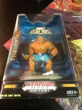 MARVEL LEGENDS TITANIUM SERIES THE THING 4-inch DIE CAST FIGURE SEALED NICE!