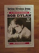 2001 Verizon Wireless Arena BOB DYLAN Promotional Concert 14 x 20 Lobby Poster
