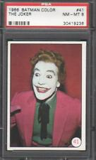 1966 BATMAN COLOR PHOTOS  #41 THE JOKER /  PSA GRADED NM-MT 8
