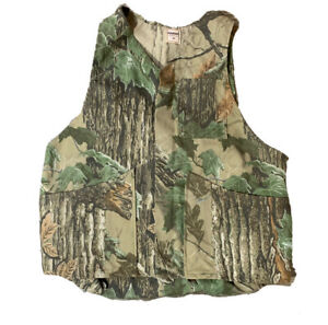 VTG Ranger Realtree Camo Hunting Vest Size Medium Made USA