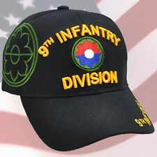 US ARMY 9th Infantry Division Ball Cap Vietnam Persian Gulf War Veteran Vet Hat