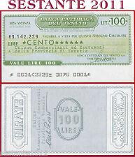 BANCA CATTOLICA DEL VENETO Lire 100 17.12. 1976 UNIONE COMMERCIANTI VENEZIA B189