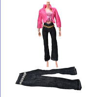 3Pcs/set Fashion Handmade Coat Pant Vest for  Doll Best Gift T Ec