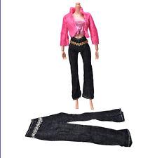 3Pcs/set Fashion Handmade Coat Pant Vest for  Doll Best Gift Toys YS